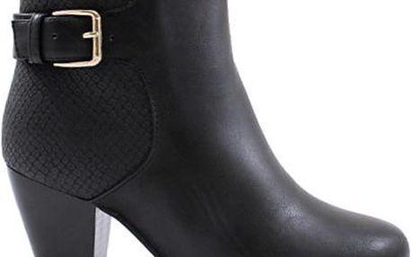 Dámské kotníčkové boty na podpatku Bless