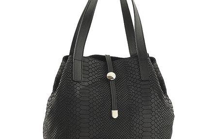 Dámská černá vzorovaná kabelka Ore 10