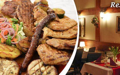 Balkánské menu ve dvou variantách pro 2 osoby