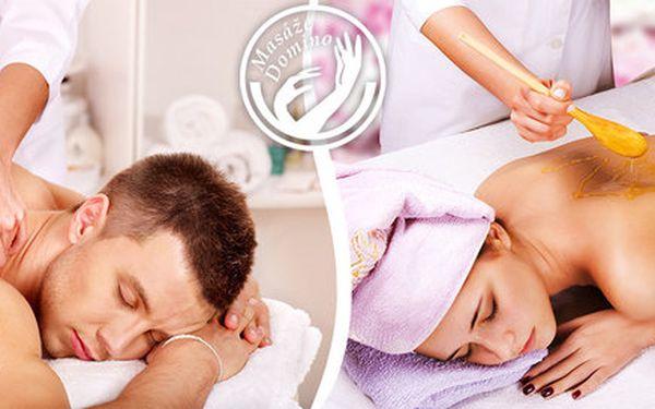 60 minut relaxační či zdravotní masáže dle výběru