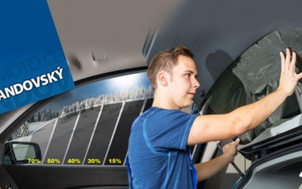 Tónování autoskel speciálními fóliemi! Ochrana před oslněním, UV zářením a dotěrným horkem!