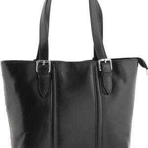 Kožená kabelka Italian Lady, černá - doprava zdarma!