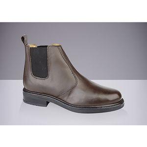 Pánské hnědé chelsea boty Roamers