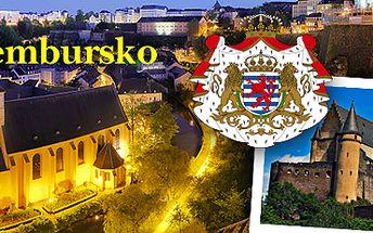 Lucemburské velkovévodství: zájezd pro 1 osobu! Poznejte památky UNESCO.