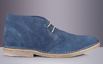 Pánské modré kotníkové boty Roamers