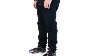 Kalhoty Backyard Cartel Label Black černá