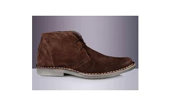 Pánské tmavě hnědé kotníkové boty Roamers