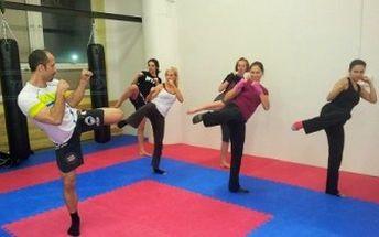 5 lekcí kickboxu, kickbox aerobiku nebo kruhový trénink. Získáte kondici a vytvarujete tělo.