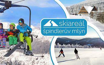 1denní skipas do Skiareálu Špindlerův Mlýn