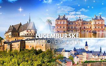 Víkendový POZNÁVACÍ ZÁJEZD do Lucemburska pro 1 osobu! Doprava autobusem a služby průvodce v ceně!