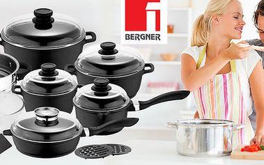 Sada nádobí Bergner s nepřilnavým povrchem