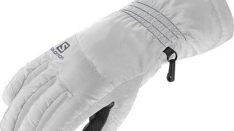 Dámské sjezdové rukavice Salomon Cruise W Bílá M