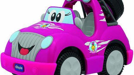 Elektronická hračka na dálkové ovládání Auto Safari Park R/C růžové