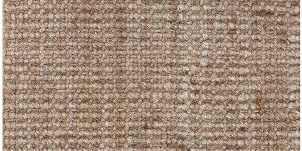 Jutový koberec Moments Natural, 130x190 cm