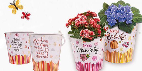 Dárkové obaly na květináče - průměr 11 cm!
