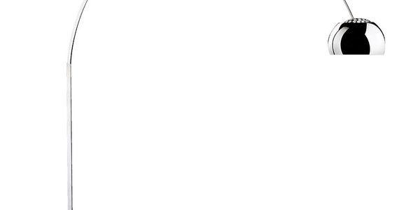 Stojací lampa Macael, bílá
