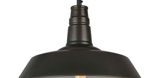 Závěsná lampa Berlin, černá