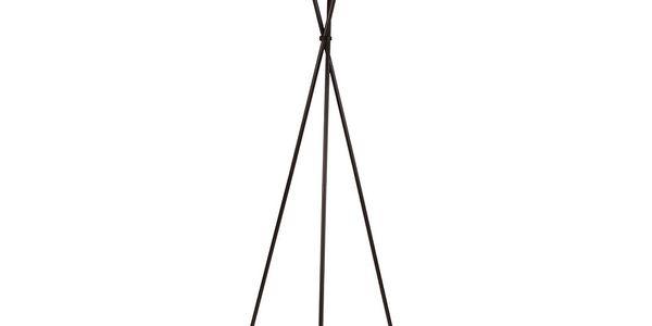 Stojací lampa Torino, červená