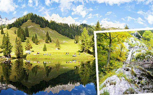 Poznávací zájezd do kaňonu Medvědí soutěska v Rakousku