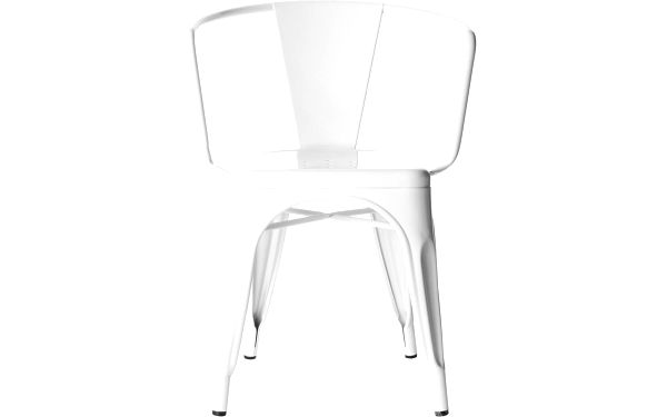 Židle Vintage Industrial White