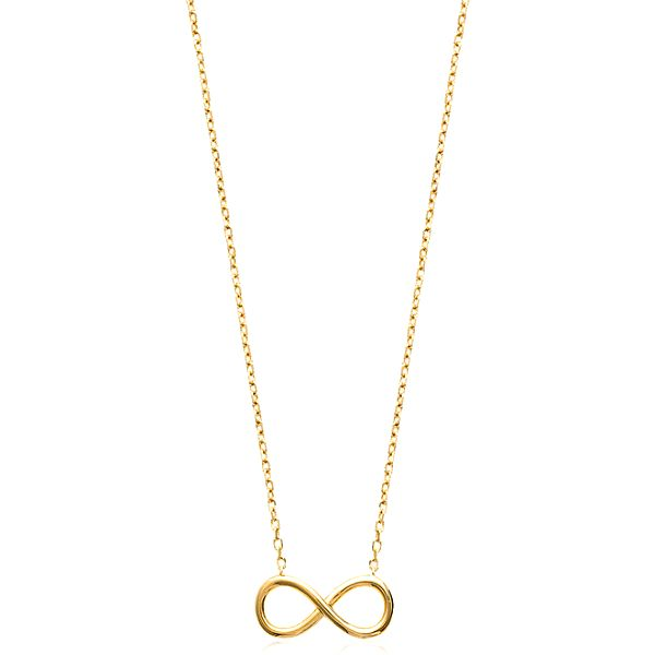 Dámský náhrdelník s přívěskem ve tvaru ležaté osmičky Fifi Ange