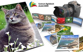 Sada 10 nebo 100 fotografií na fotopapíře