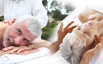 Speciální relaxační a regenerační masáž pro seniory! Masáž zad, šíje, rukou, nohou, chodidel a obličeje!