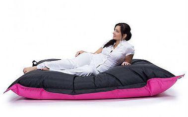 DESIGN tip: Oboustranné dvoubarevné sedací pytle v libovolných barvách.