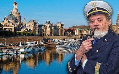 Zážitková plavba do Drážďan s rautem a živou hudbou!