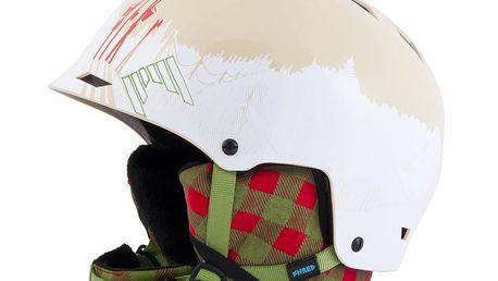 Skvělá freeridová helma řady Shred Half Brain D-Lux Slopeside