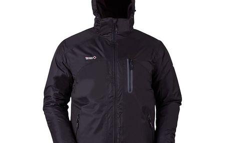 Pánská černá outdoorová bunda s náprsní kapsou Izas