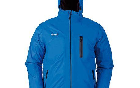 Pánská modrá outdoorová bunda s náprsní kapsou Izas