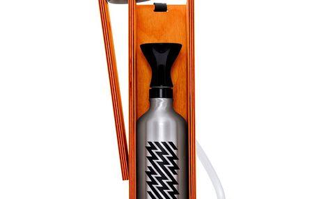 Designová vodní dýmka Hekkpipe Active, oranžová