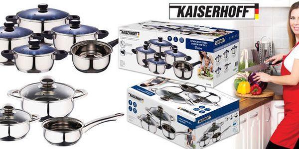 Sady nerezového nádobí Kaiserhoff