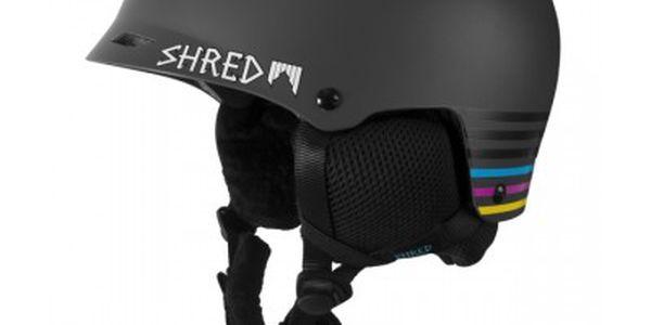 Helma Shred Half Brain Shrastalines Černá