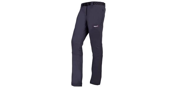 Dámské tmavě šedé kalhoty Izas
