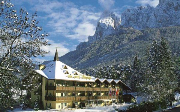 Itálie, oblast Val Gardena, polopenze, ubytování v 4* hotelu na 8 dní