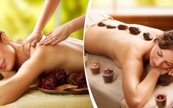 Zimní pohádka: ozdravná celotělová masáž s lávovými kameny a hřejivým aroma zábalem