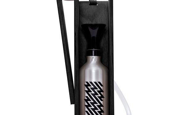 Designová vodní dýmka Hekkpipe Active, černá