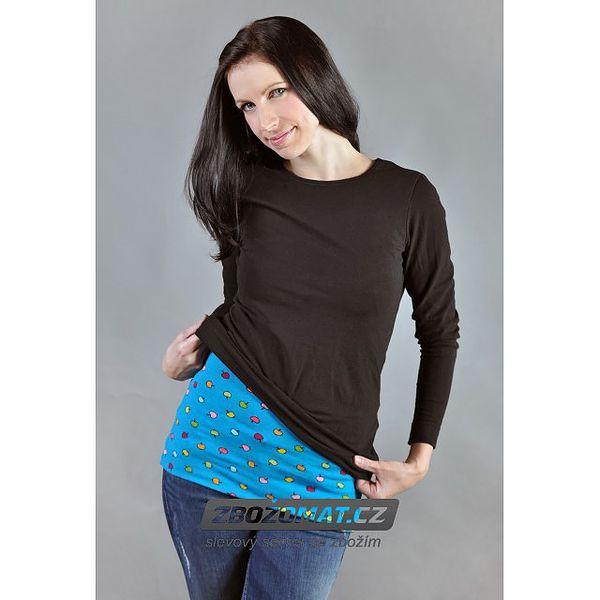Vzorovaný bederní pás pro ženy Nice Belly - chraňte svá bedra před zimou!