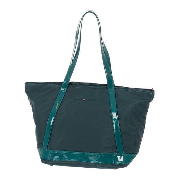 Dámská kabelka v zeleném odstínu Tommy Hilfiger
