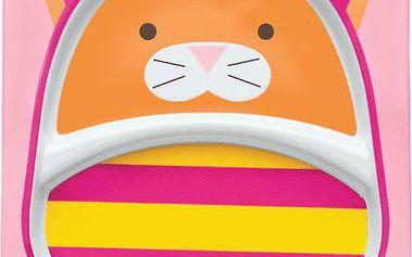 Skip Hop Zoo Talířek 2v1 - Kočička
