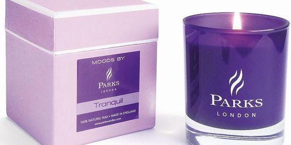 Svíčka Moods Purple, 50 hodin hoření