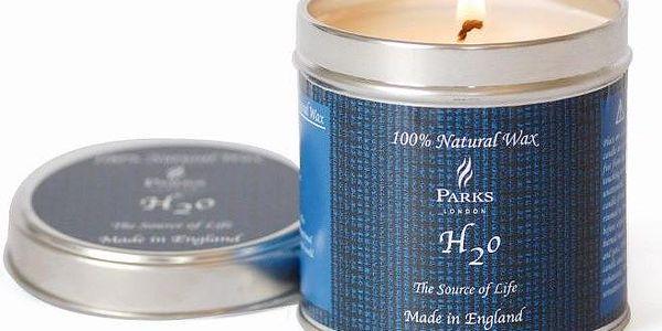 Svíčka Scented Candles, 50 hodin hoření, vůně moře a korálů