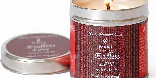 Svíčka Scented Candles, 50 hodin hoření, vůně růže