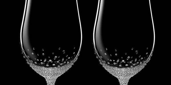 Sada 2 sklenic na pivo Pontus se Swarovski Elements v luxusním balení - doprava zdarma!