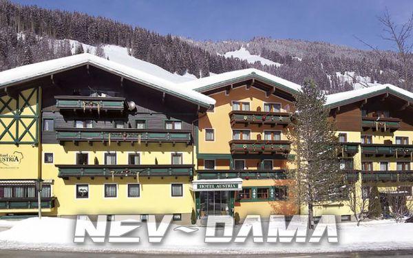 Hotel Austria, Skicircus - Saalbach / Hinterglemm, Rakousko, vlastní doprava, polopenze