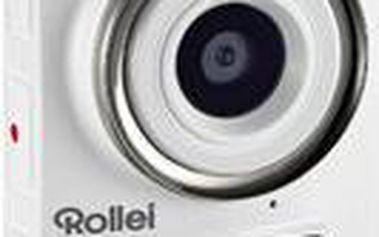 Výkonná videokamera v minimalistickém provedení Rollei Add Eye, bílá - 40128