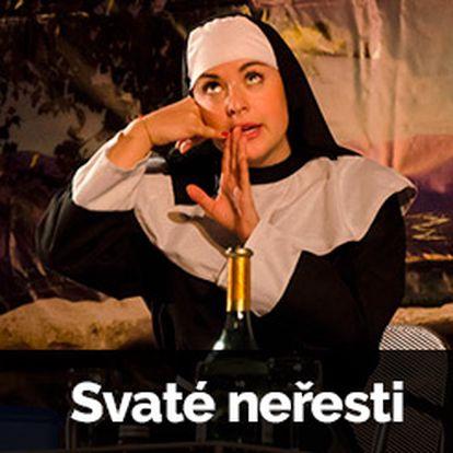 Divadelní představení Svaté neřesti se skvostným obsazením a hereckými výkony.