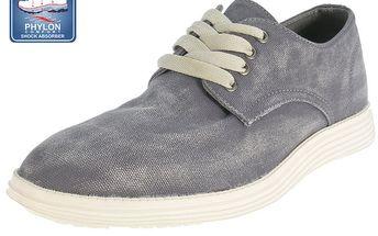 Pánské šedé šněrovací boty Beppi